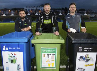 Zero waste to landfill objective for Glasgow Warriors