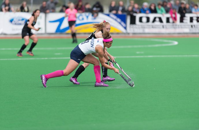 'Carbon capturing' bio-plastic used for Tokyo 2020 hockey surface