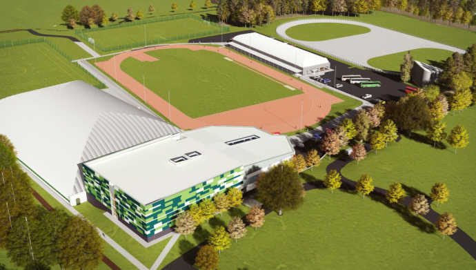 Renewable energy centre being built for £32m sports complex