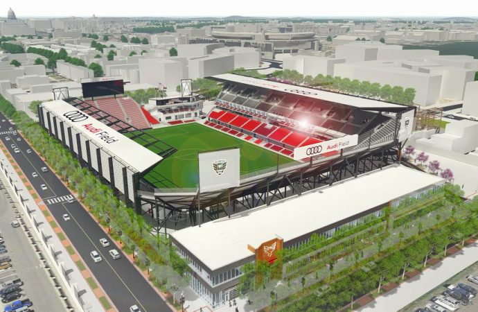 DC United to open Audi Field with LEED-accredited recycling partner