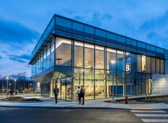 Bentley University builds first LEED Platinum ice arena in the US