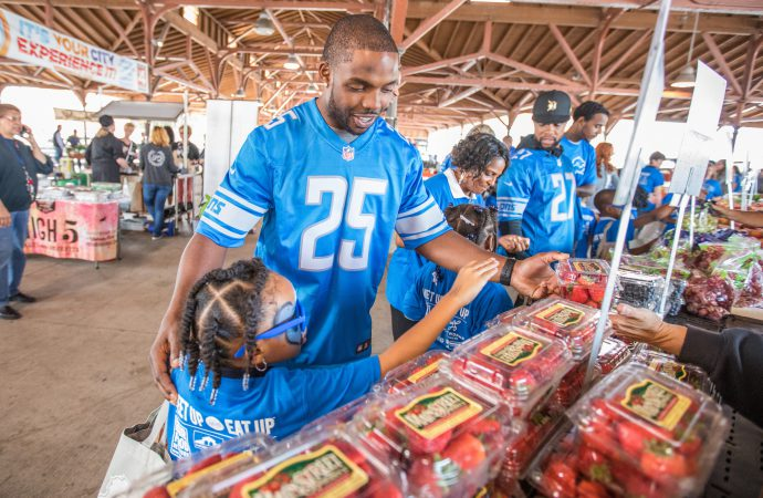 Professional sports teams battle poverty in their communities