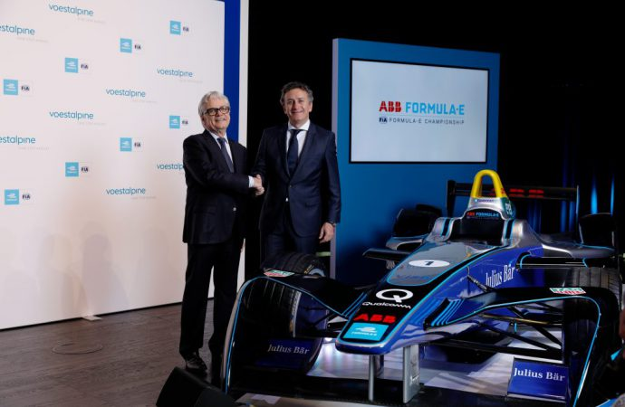 Formula E and new sponsor working to advance electromobility