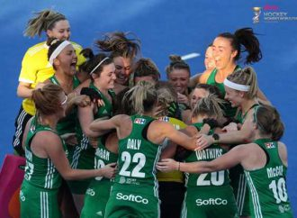 The England hockey player who volunteered to green the World Cup