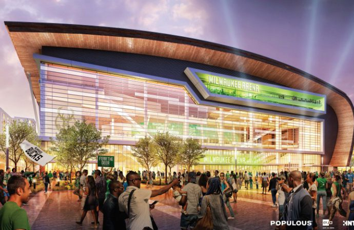 New Milwaukee Bucks Arena teases sustainability plan ahead of opening