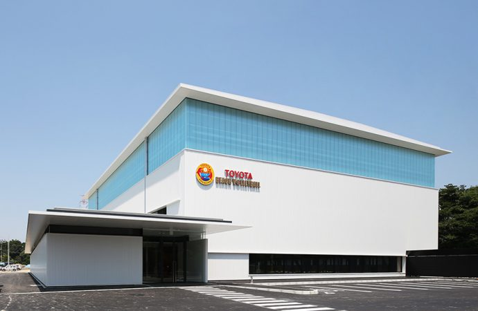Toyota the driving force behind energy-saving volleyball facility