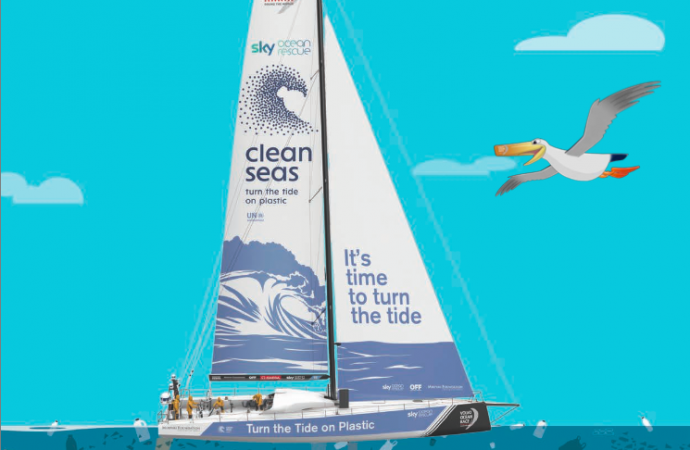 Volvo Ocean Race guides sports events away from single-use plastic