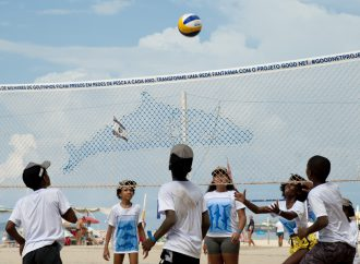 FIVB transforming discarded fishing gear into community volleyball nets