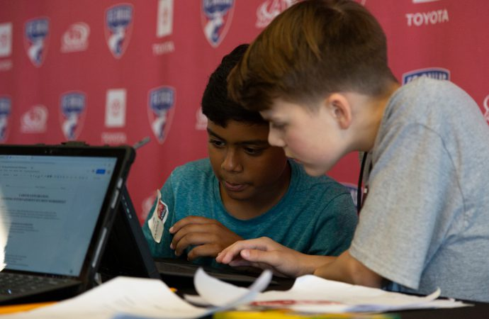Bridging the education gap: How sports teams are engaging kids in science, maths and technology
