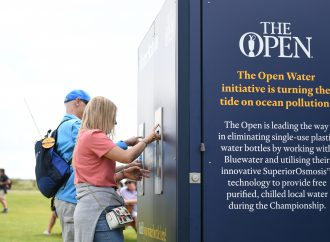 How The R&A eradicated single-use plastic water bottles from The Open 2019