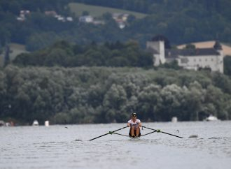 Green mobility and clean water in the spotlight at the World Rowing Championships