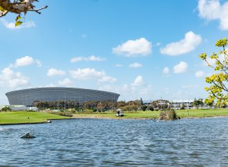Can sports venues have a positive impact on the natural environment?