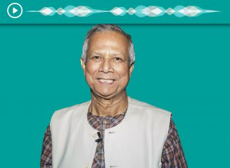 PODCAST: Nobel Prize winner Muhammad Yunus on growing social businesses through sport
